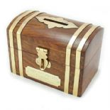 Wooden Chest Money Box (Small) PERSONALISED, ref WCMB